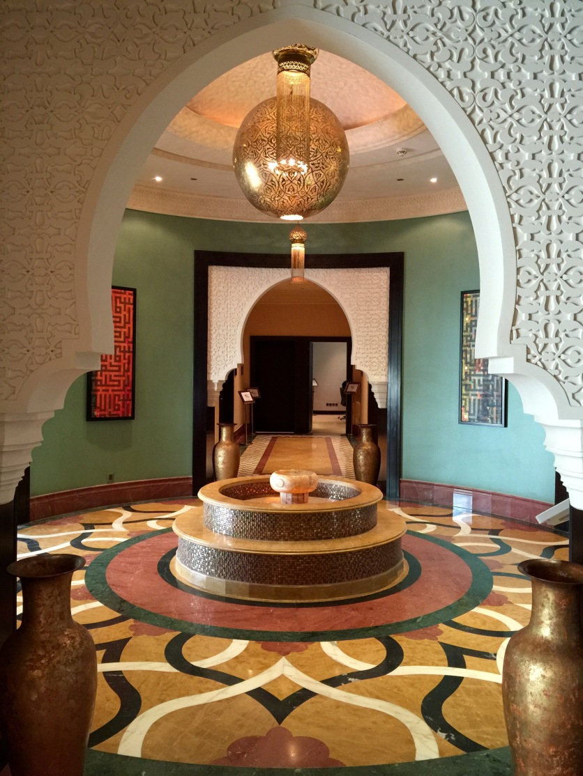 Beautifully decorated hallways
