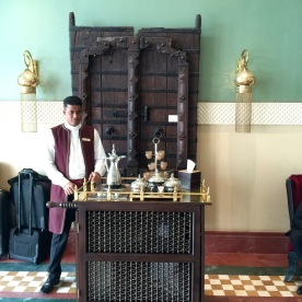 Traditional Arabic hospitality
