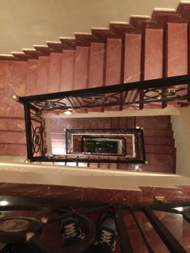 Staircase to the second floor