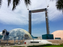 Closed Star Gate Attraction in Zabeel Park