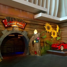 The Entrance to the ride