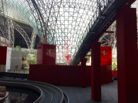 Riders will be accelerating through the glass vortex