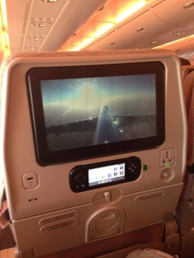 Watch the great view thanks to on-board cameras