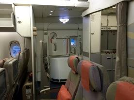 No adjacent seats at row 51