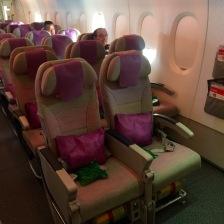 Emergency Door Seat at row 80
