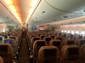 View from the rear of the aircraft