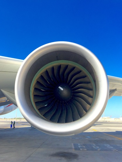 The mighty RR Trent 970 engine