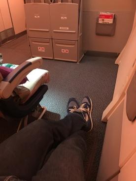 Unlimited leg room