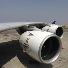 Both Trent engines