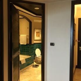 Bathroom from the hallway