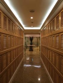 Spa locker room