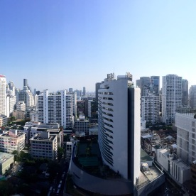 Panoramic view from room 2307