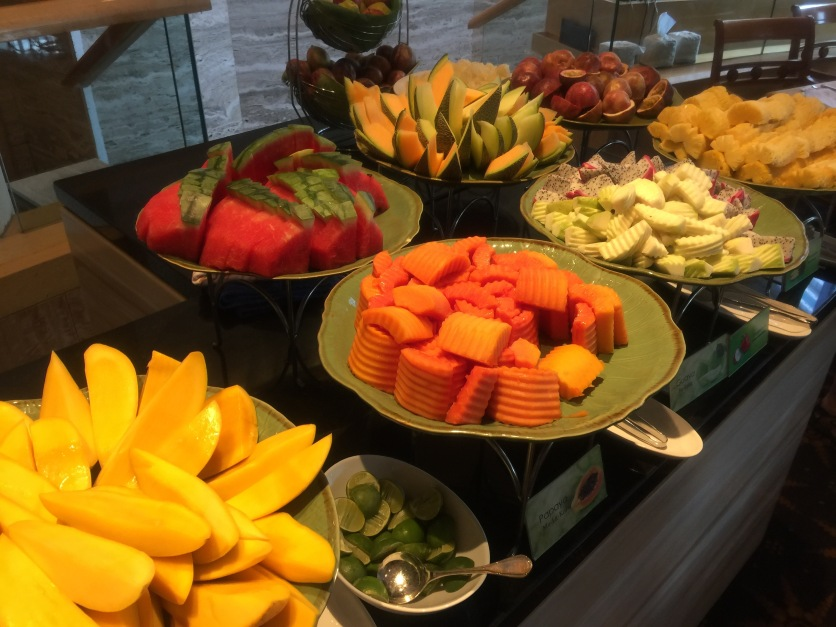 The fresh mango at the Orchid breakfast buffet was just amazing