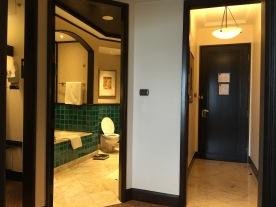 Entrance door from the hallway