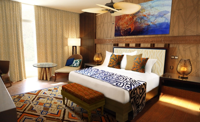 Lapita Hotel Guest room