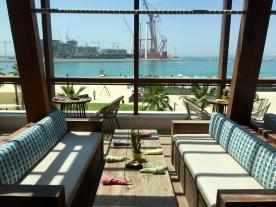 First floor outdoor lounge