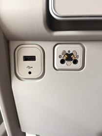 2nd USB and headset socket