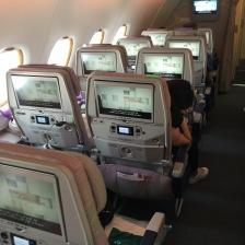 Emirates A380 2class