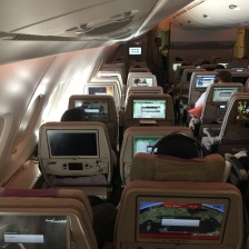 2 seats on each site are great if you travel with a companion