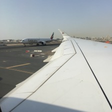 Prior take-off at DXB
