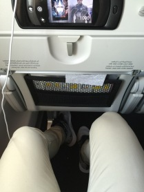 Very generous leg-room