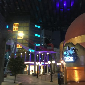 Entrance to Thor ride
