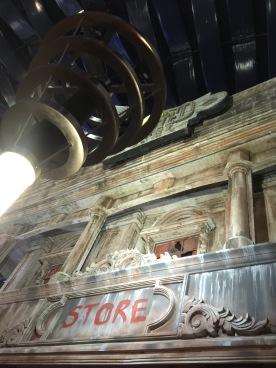 Haunted Hotel shop