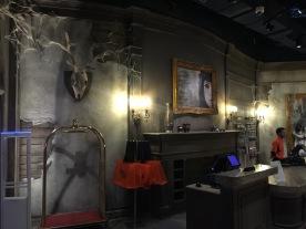 Interior is wonderfully creepy