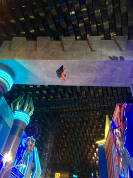 Spiderman … hanging