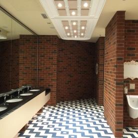 Nice clean washrooms