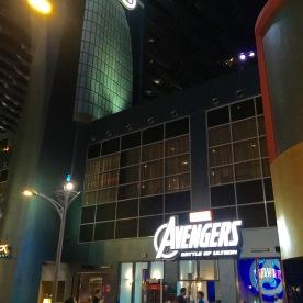 3D Avengers ride