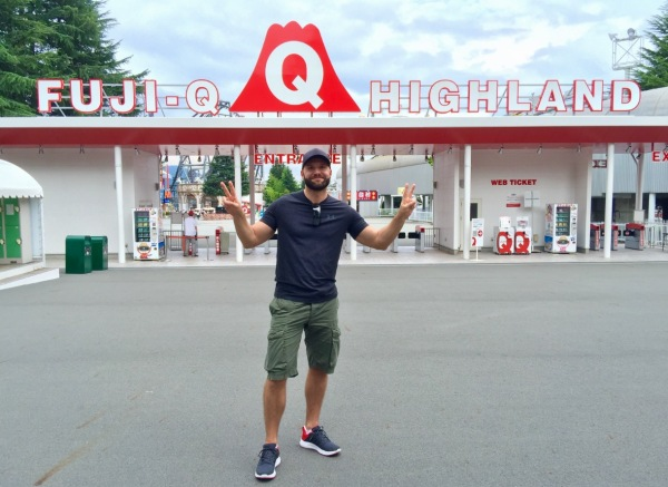Fuji Q Highland theme park japan