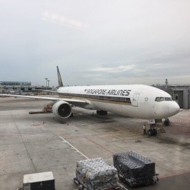 Re-fitted B777-300