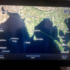 Flight route channel