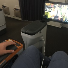 USB and TV in middle island ( front row only )