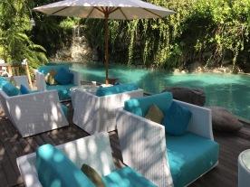 Pool facing loungers
