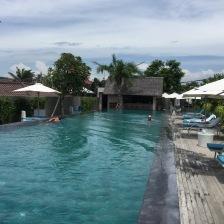 Wellness centre pool