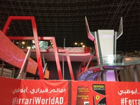 Turbo Track Ferrari World Abu Dhabi