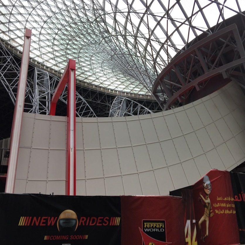 Turbo Track Ferrari World Abu Dhabi
