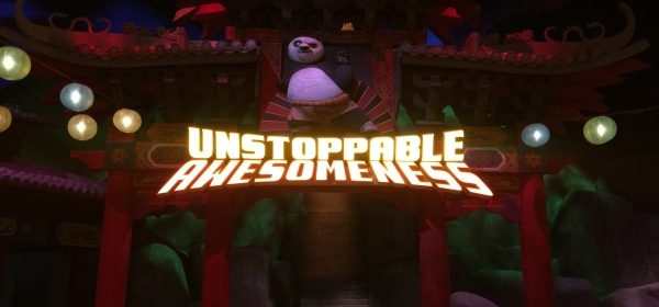 Motiongate Dubai Dreamworks Kung-Fu Panda Unstoppable Awesomness Ride
