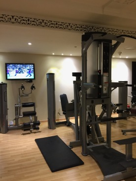 Al Mashreq Boutique Hotel Riyadh Saudi Arabia Review Gym Fitness Spa
