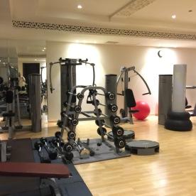 Al Mashreq Boutique Hotel Riyadh Saudi Arabia Review Gym Fitness Spa