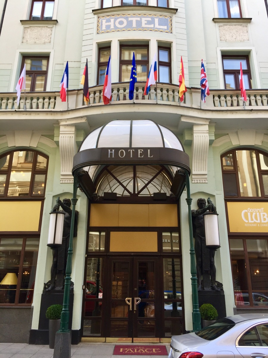 PRAGUE : Stay at Art Nouveau Palace Hotel / REVIEW