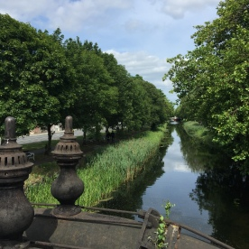 Lovely canal in Dublin