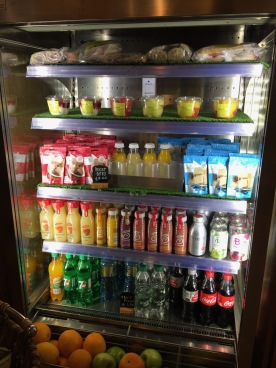 Lobby bar grocery corner