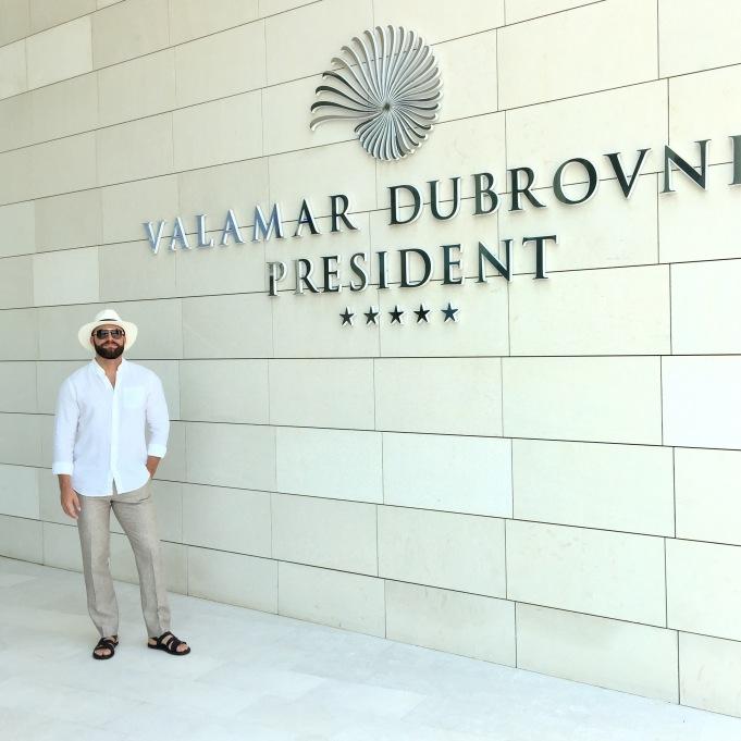 IMG_7126 . Review Valamar President Hotel Dubrovnik Croatia .