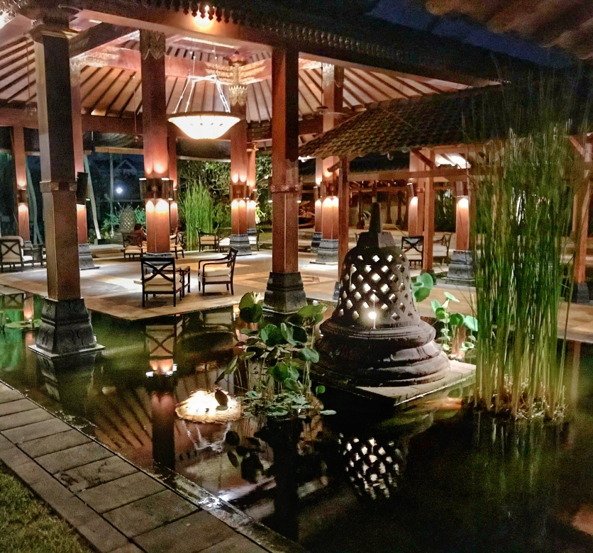 Beautifully decorated outdoor areas