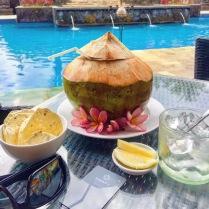 Love fresh coconut water