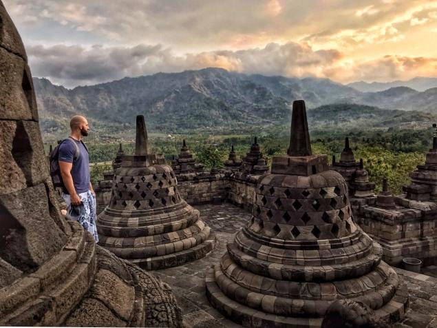 Borobudur temple Yogyakarta
