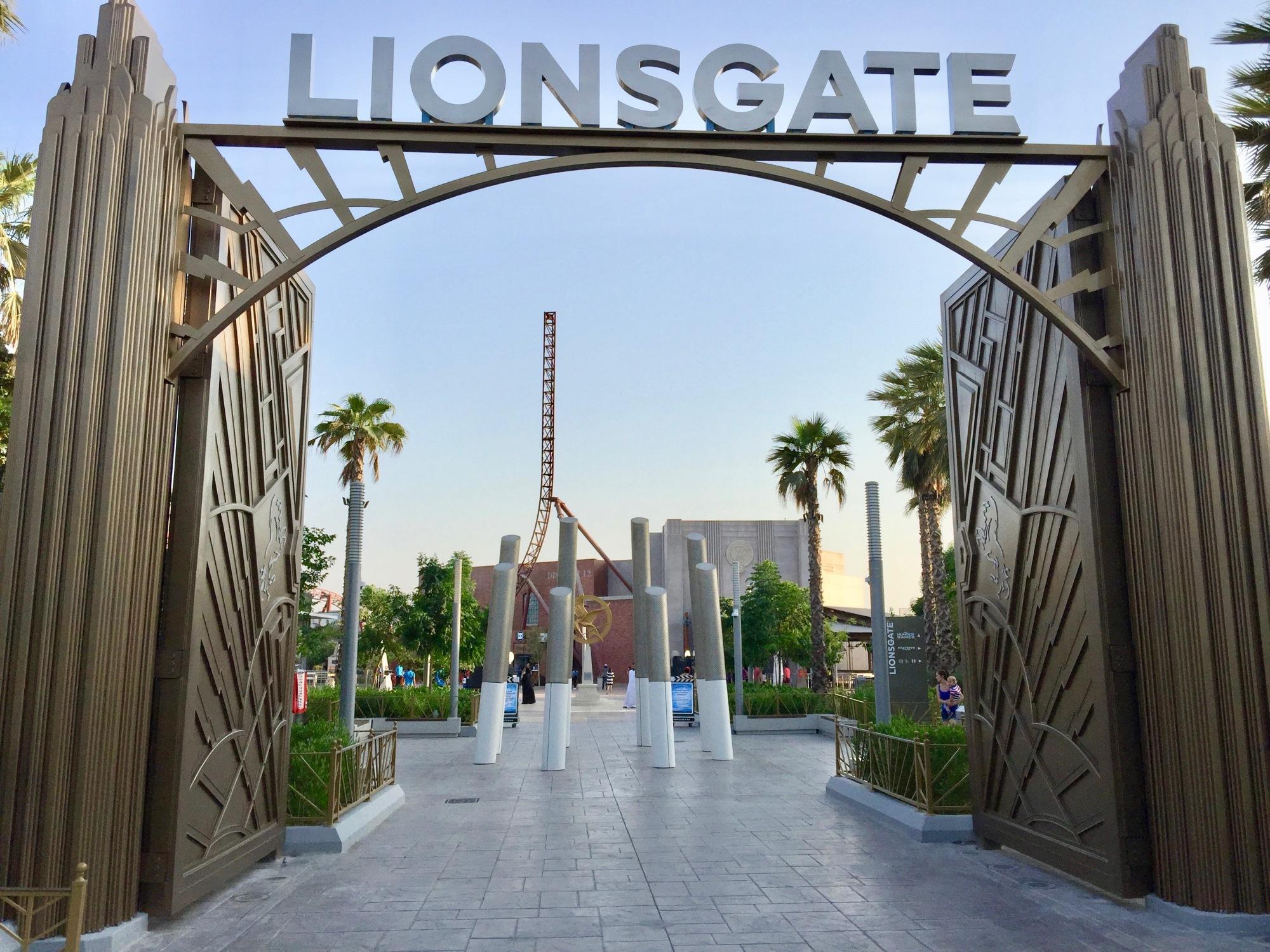 Motiongate Theme Park Dubai The Hunger Games Lionsgate Zone